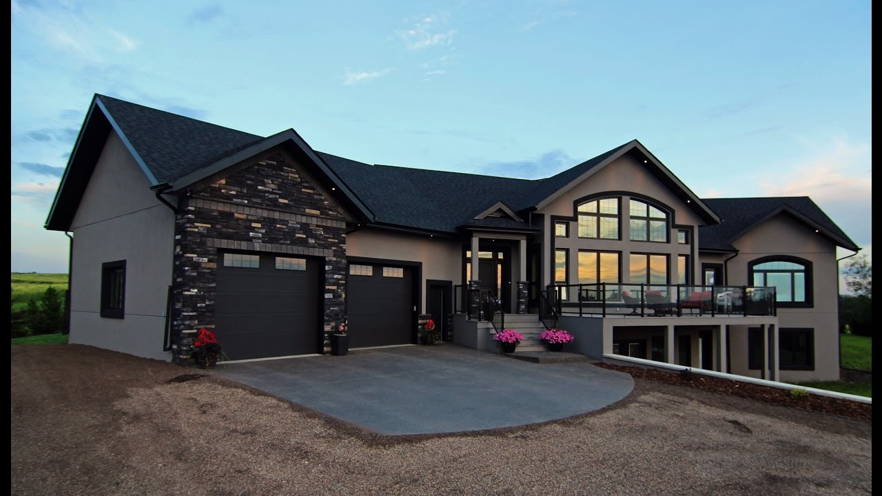 Award Winning Icf Custom Home Youtube