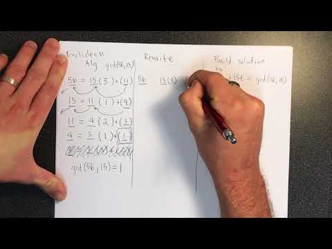 Extended Euclidean Algorithm from YouTube · Duration:  7 minutes 44 seconds