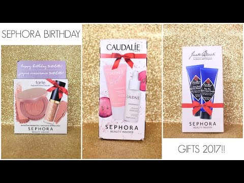 2017 Sephora Birthday Gifts!