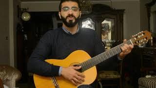 zay manty amr diab guitar زى مانتى عمرو دياب جيتار