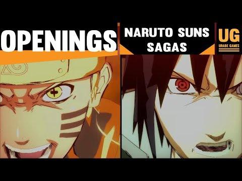 Openings Naruto Shippuden Ultimate Ninja Storm Sagas || Storm  - Road To Boruto