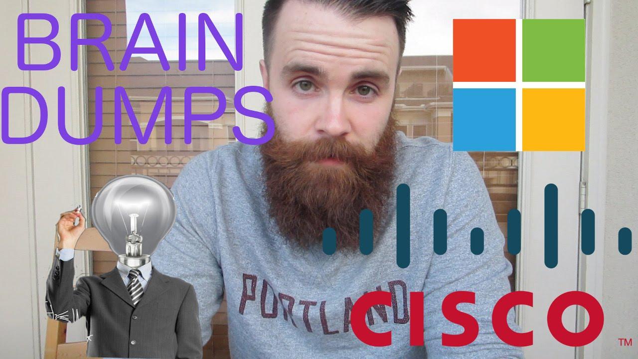 Should I use a Brain Dump for my CCNA, CCNP, MCSA Exam