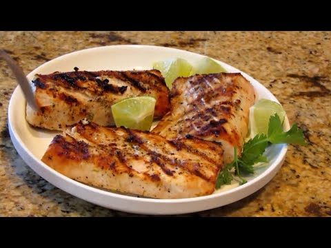 fish fillet recipe | fish fillet recipe and procedure: Light And Easy Grilled Ono Fish Fillets
