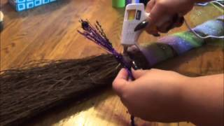 How to Decorate Your Broom/Besom