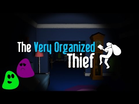 The Very Organized Thief - Green & Purple