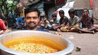 Shahi Tukda Dessert | Double ka meetha Donating to Homeless | Street Kitchen