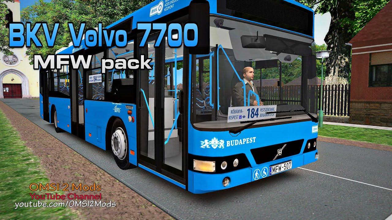 OMSI 2 – BKV Volvo 7700 MFW Pack