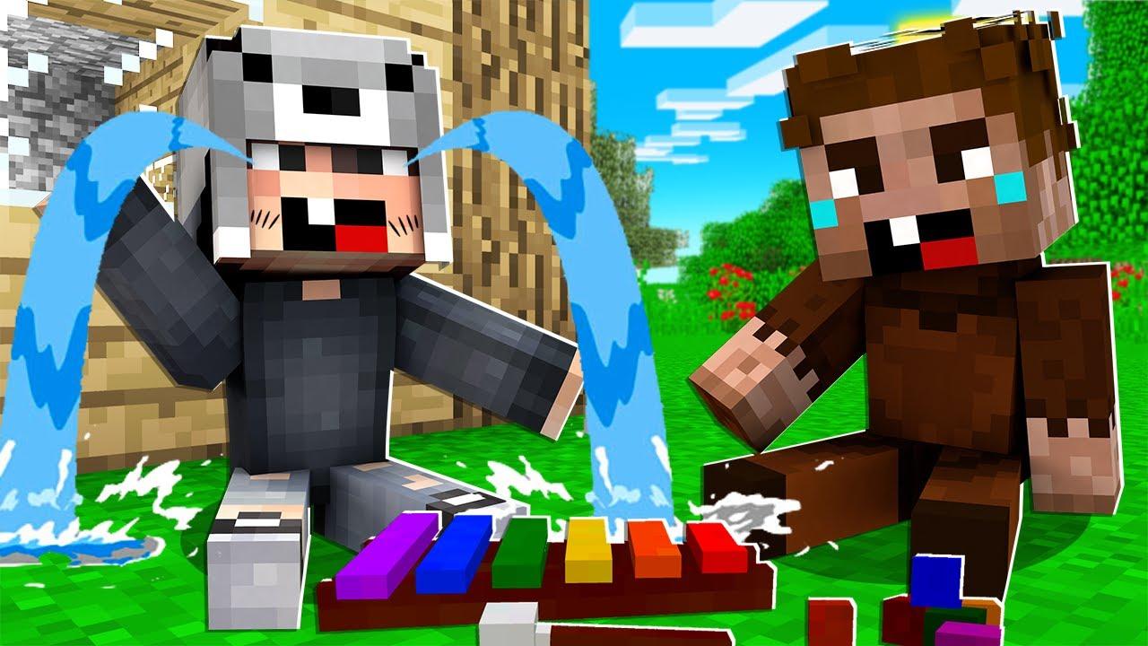 Download 1 GÜNLÜĞÜNE BEBEK OLDUK 👶🏻🍼 - Minecraft