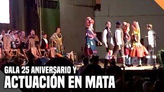 Gala 25 aniversario del grupo folklórico Aliso y actuación en Mata - (Vlog) - La subred de Mario