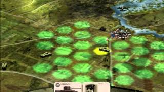 Panzer General 3D Assault - Montgomery s10 - The plains of Normandy!