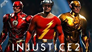 Injustice 2 Online - THE FLASH FAMILY!