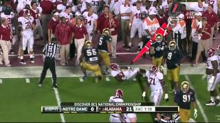 BCS Championship Notre Dame Vs Alabama FULL GAME HD 2013(Notre Dame Vs Alabama played on 1/7/13 in the BCS Championship # 1 Notre Dame was the home team and # 2 Alabama was the away team This is a telecast ..., 2013-09-07T03:21:25.000Z)