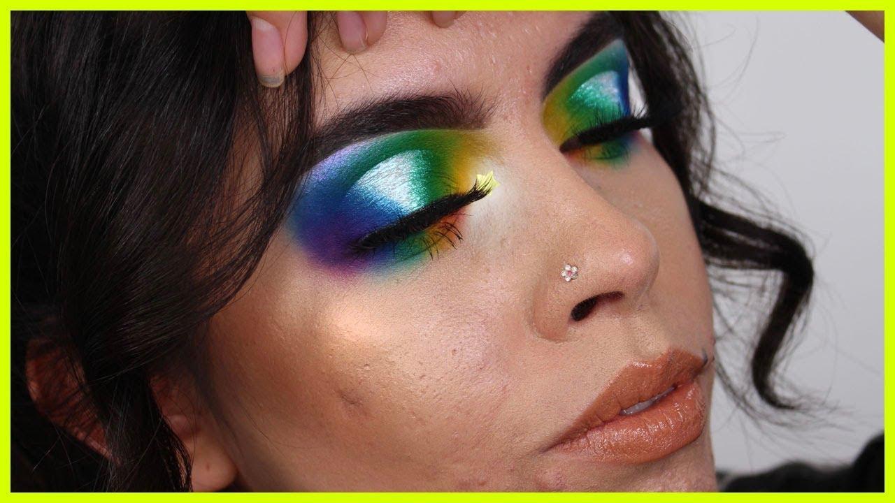 Image result for rocio ceja makeup rainbow