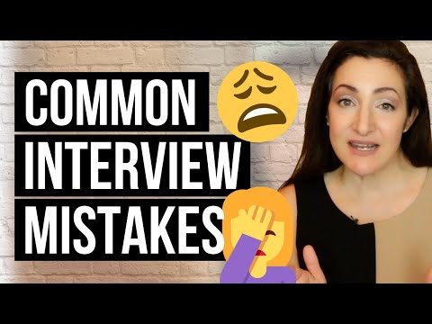 2 Job Interview Mistakes EVERYONE Makes (And How To Avoid Them)