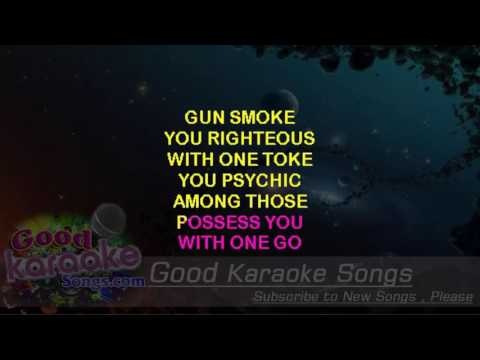 Clint Eastwood -  Gorillaz (Lyrics Karaoke) [ goodkaraokesongs.com ]