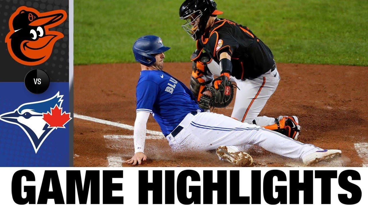 Blue Jays use six-run 2nd inning to top Orioles, 10-5 | Orioles-Blue Jays Game Highlights 9/25/20