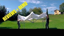 REVIEW ABCCANOPY 10' x 10' White Instant Shelter Ez Pop Up Canopy Tent