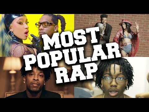 Best Rappers 2020.Top 100 Most Popular Rap Songs Of 2019 Youtube