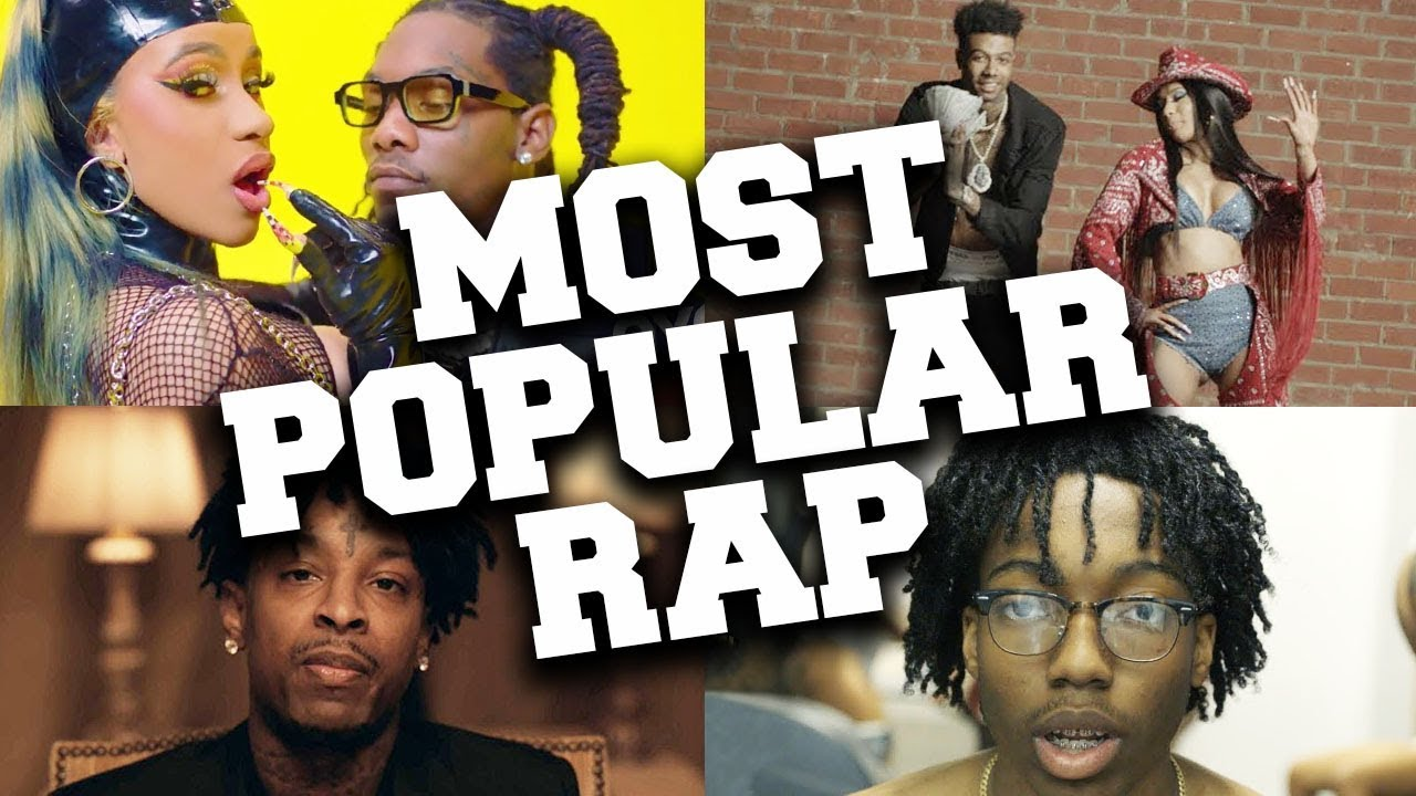TOP 100 Most Popular Rap Songs of 2019