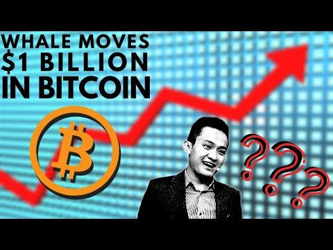 $1 BILLION IN BITCOIN Moved! Finance Managers ADD BTC To Portfolio | Justin Sun Of Tron Announcement