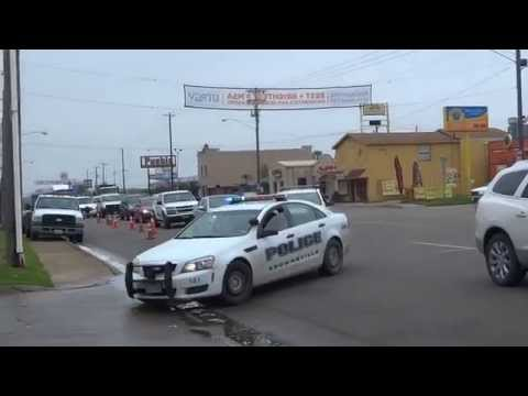 Brownsville Texas Police At Boca Chica Incident
