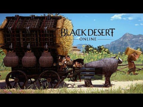 Black Desert Online - Non-Combat Sandbox Gameplay (Trading, Fishing, Housing)