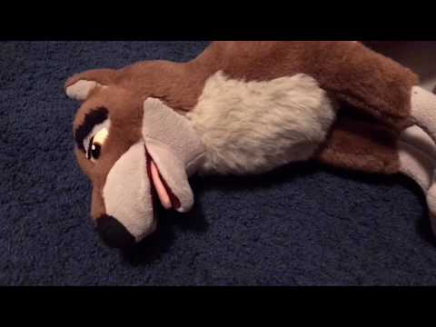 How to clean a balto plush/polyester stuffed animal