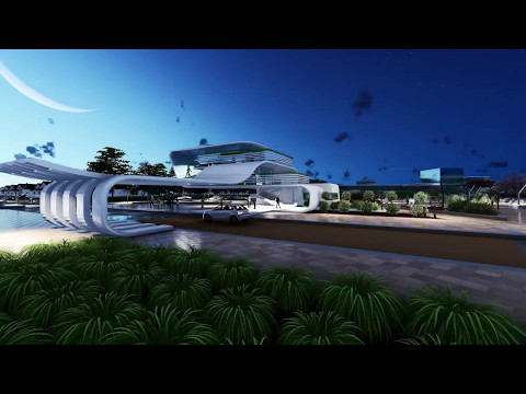 Lumion 8 - CREATIVE HUB MASTER PLAN