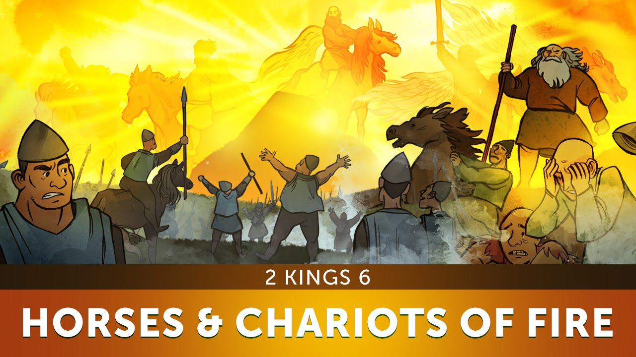 Sunday School Lesson for Children - Horses and Chariots of Fire - 2 Kings 6 - Bible Stories for VBS
