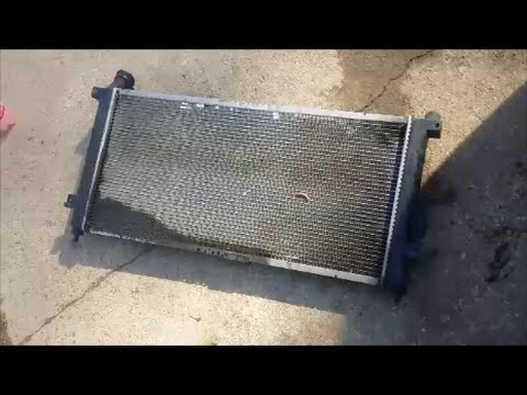 2002 Oldsmobile Silhouette, Transport, Venture and Chevy Transport radiator removal and replacement
