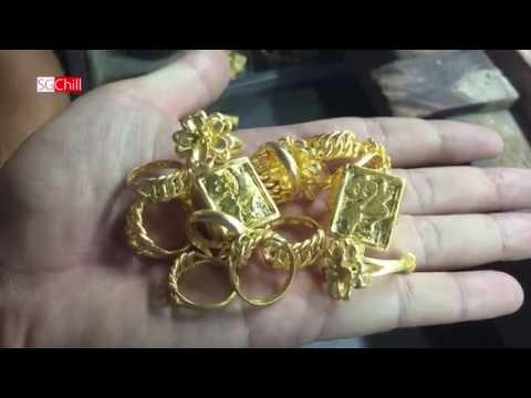 Quá trình chế tạo chiếc nhẫn 1 lượng vàng 24k