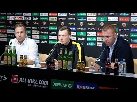12. Spieltag | SGD - SVS | Pressekonferenz vor dem Spiel