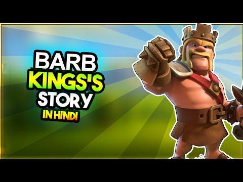 """BARBARIAN KING"" Story of Barbarian king in hindi  | Clash stories in Hindi Episode - 29"