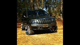 2002 Jeep Grand Cherokee Overland on 22s