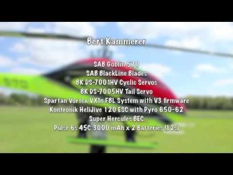 Bert Kammerer flying Goblin 570 on 12s