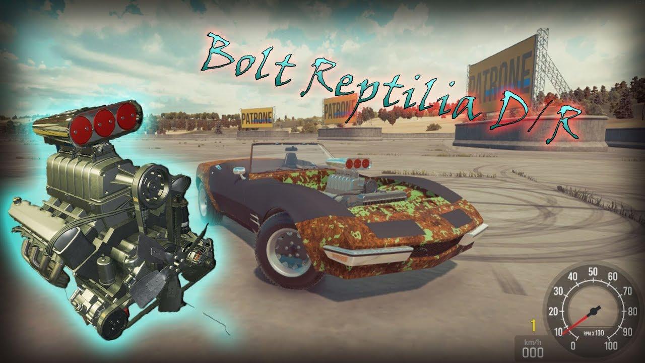 Bolt Reptilia D/R - Speedtest (Car Mechanic Simulator 2018) by ItsApehcs