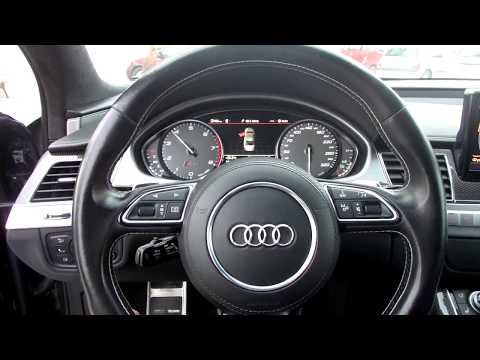 Audi S8 d4 - Revs onboard