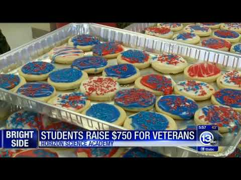 NHS Students Deliver Check to Vets Matter | 13abc Broadcast 11/13