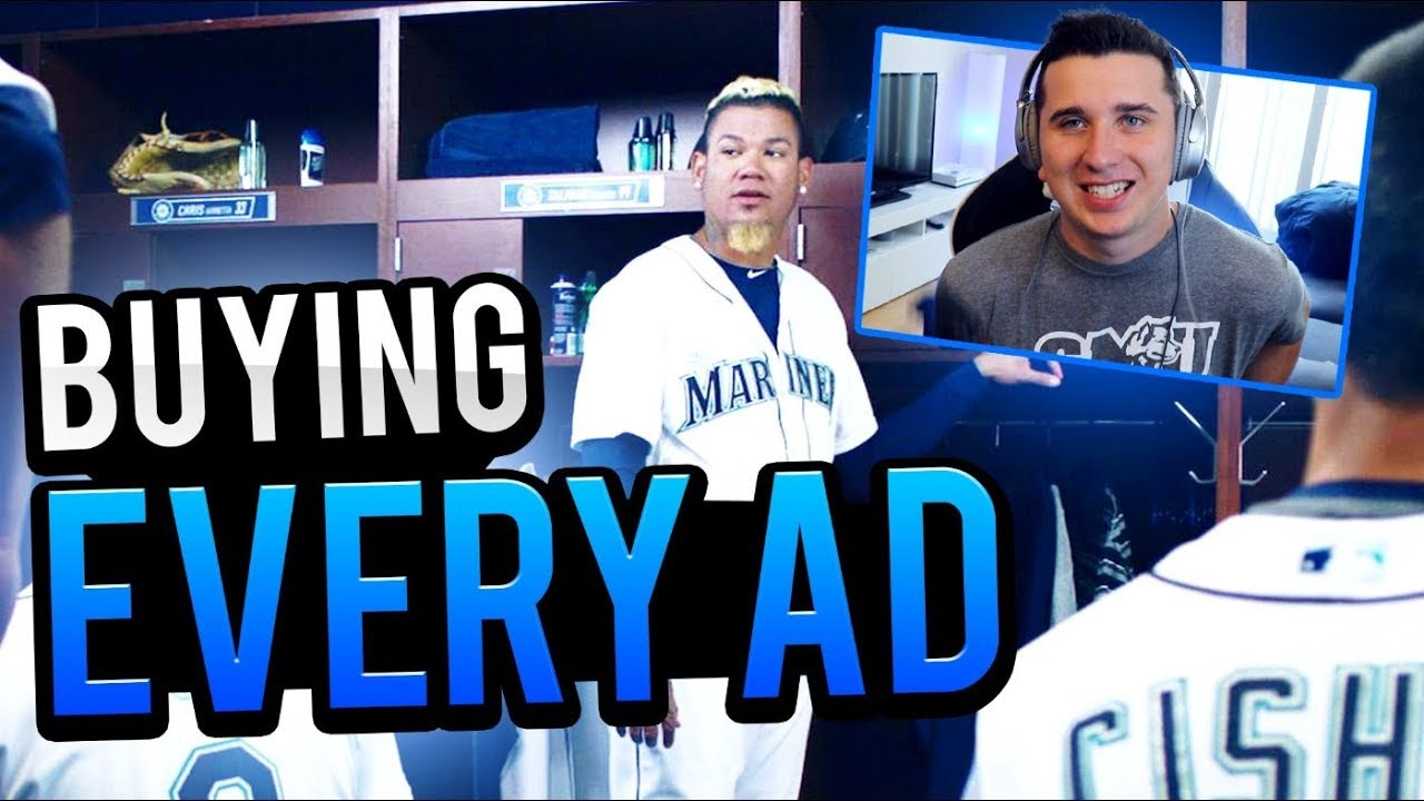 Buying Every MLB Advertisement I See ONLINE!