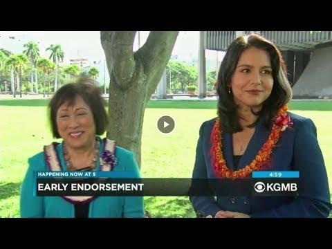 Hawaii News Now: Tulsi Gabbard Endorses Colleen Hanabusa for Governor