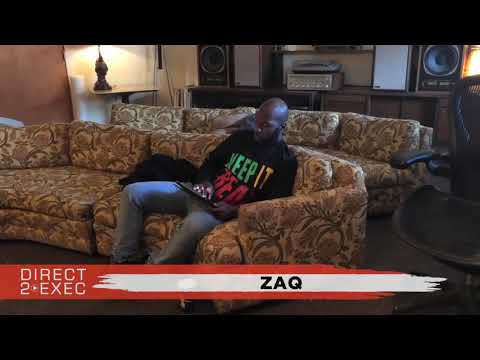 ZaQ (@SouthSeattleZaQ) Performs at Direct 2 Exec Seattle 10/28/18 - A&R at Atlantic Records