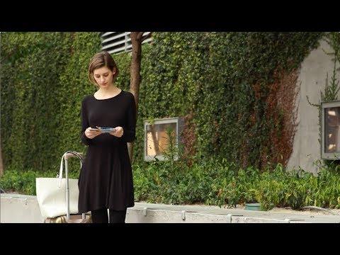 68e0e6165abd Sweatshirt Travel Dress   Betabrand - YouTube