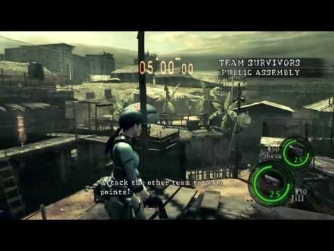 Resident Evil 5 PS4 Versus Gameplay [60fps HD]