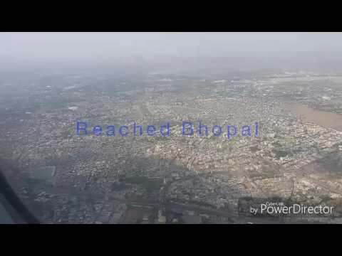 Air india AI 833 || Delhi to Bhopal Flight ||