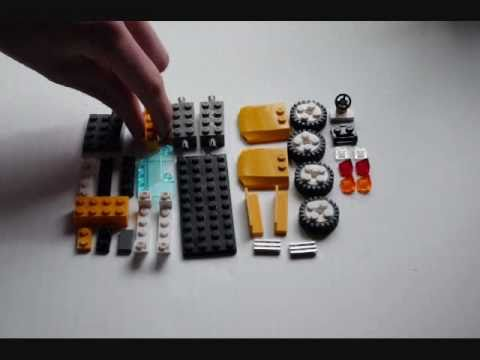 HowTo Build a LEGO Sports Car (Convertible) Tutorial (WhacoLab ...