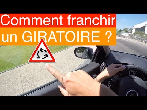 COMMENT FRANCHIR UN ROND-POINT ? Giratoire [5/6]