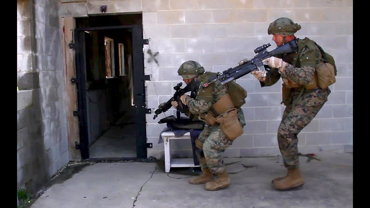 U S Marine Corps Urban Tactics Youtube