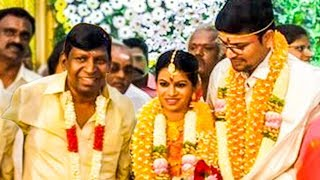 Vadivelu's Second Daughter Gets Married | Hot Tamil Cinema News