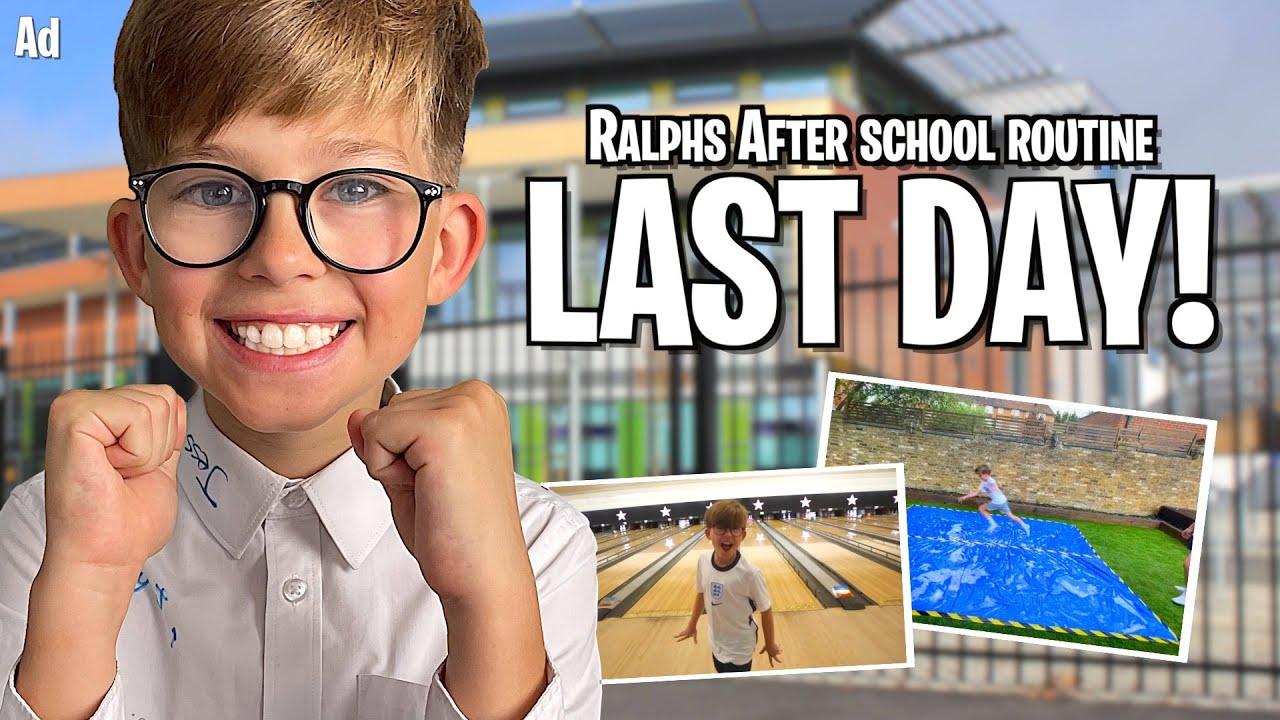 LAST DAY OF SCHOOL EVENING ROUTINE! *TEAMGB CHALLENGE