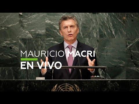 Discurso de Mauricio Macri, presidente de Argentina- Asamblea General de la ONU 73 (UNGA 2018)